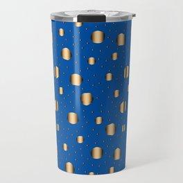 Traditional Japanese patter ARAREKOMON Travel Mug