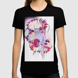 Surreal snake mother woman T-shirt