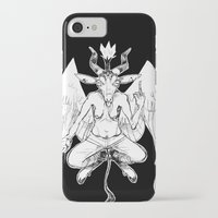 baphomet iPhone & iPod Cases featuring baphomet by musa