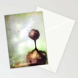 Little lost tree Stationery Cards