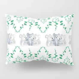 Koalas in Eucalyptus Pillow Sham