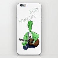 kurt rahn iPhone & iPod Skins featuring Kurt Romaine by Pattavina