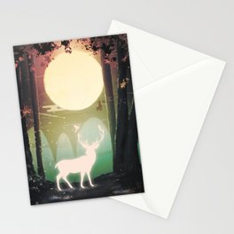 FRIENDS - DEER/BIRDS Stationery Cards
