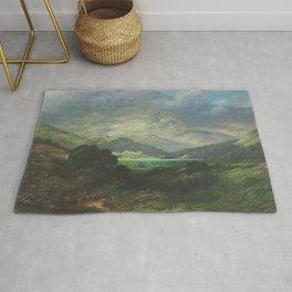 The Scottish Highlands Gustave Dore Rug