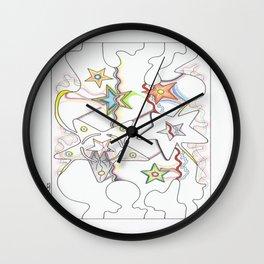 3 Artist Part 2 Wall Clock