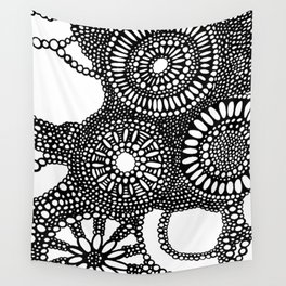graphic dots pattern Wall Tapestry