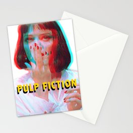 """I said goddamn. Goddamn"" - MIA WALLACE Stationery Cards"