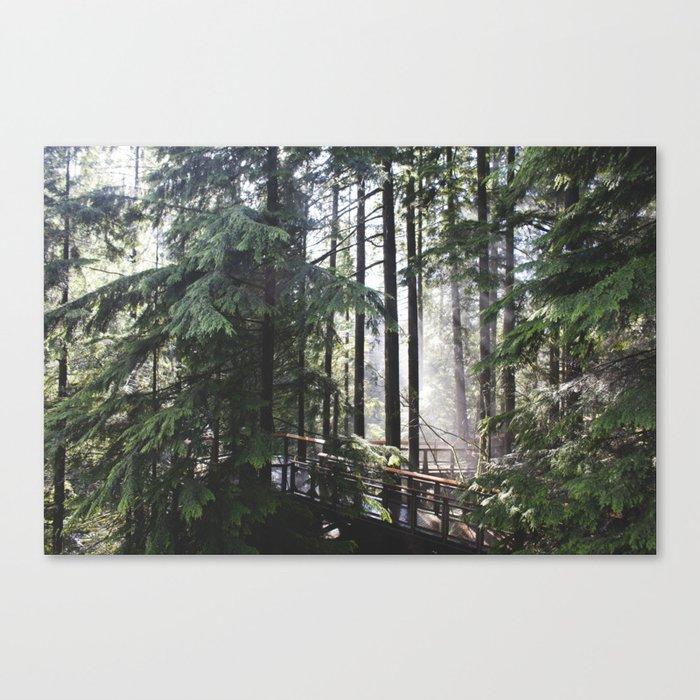 Capilano, British Columbia Canvas Print