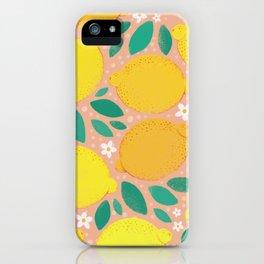 Meyer Lemons iPhone Case