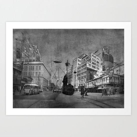Calgary Eatons Art Print