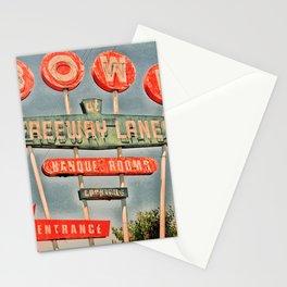 Freeway Lanes Bowl - Selma, CA Stationery Cards