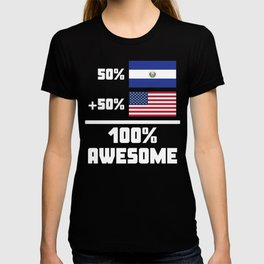 Awesome El Salvadorian American T-shirt