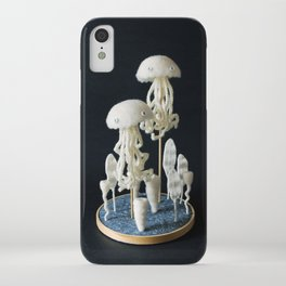 Paleozoic Sea Creature: jellyfish iPhone Case