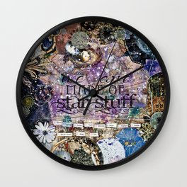 Star Stuff III Wall Clock