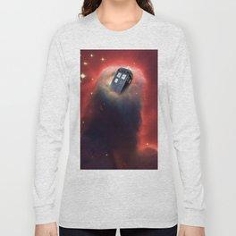 Tardis Doctor Who Pillar Of Gas Long Sleeve T-shirt
