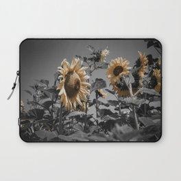 Sunflowers On My Mind Laptop Sleeve