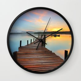 Lake Fantastic Wall Clock