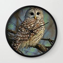 Woodland Goddess Wall Clock