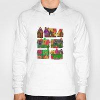 merry christmas Hoodies featuring Merry Christmas! by Klara Acel