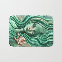 Submerged Waterlilly Bath Mat