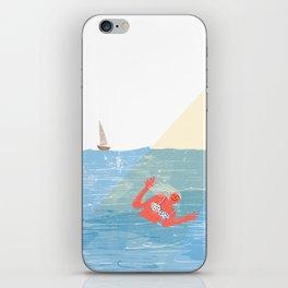 Bye Bye Sea iPhone & iPod Skin