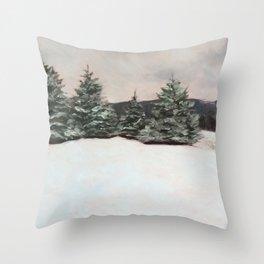 Colebrook Winter Throw Pillow