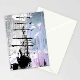 POLAR STAR blue Stationery Cards