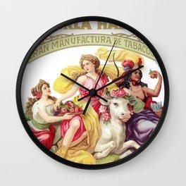 LA PERLA HABANA Wall Clock