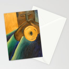 The Trumpet Player Stationery Cards