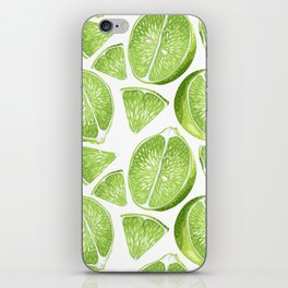 Juicy Lime with vitamin C iPhone Skin