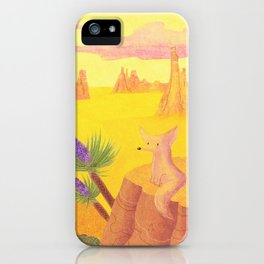 In The Desert iPhone Case