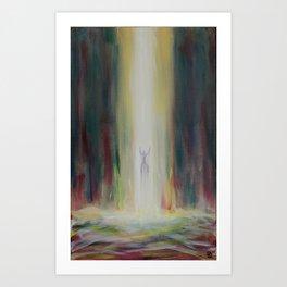 Intense Glory Art Print