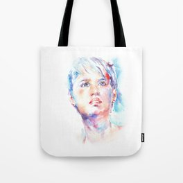 Eyes of Blue . . . portrait Tote Bag