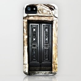 Mahogany Church Door  iPhone Case
