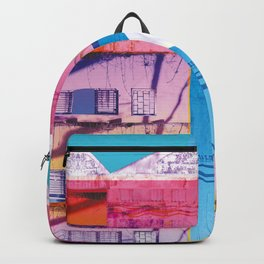 Key to the love colourfull illustration Backpack