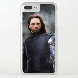 Soldier Winter (Infinity War) Clear iPhone Case