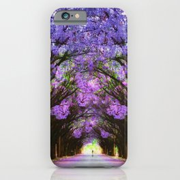 Jacaranda Street iPhone Case