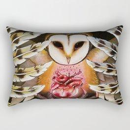 Hunter in the Night Rectangular Pillow