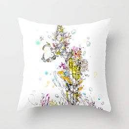 Sunken Roots Throw Pillow