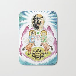 Two Horses, Tim and Eric Bath Mat