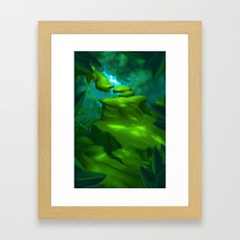 Come This Way Framed Art Print