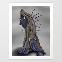 Dark Wanderer Art Print