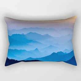 Mountains 11 Rectangular Pillow