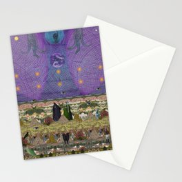 new earth rituals Stationery Cards