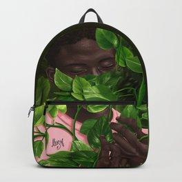 Green Mask Backpack