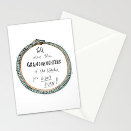 Ouroboros of the Witches Stationery Cards