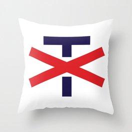 Trump, Not My President Throw Pillow