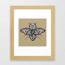 Bee Detailed  Framed Art Print