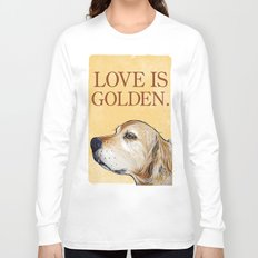 Love is Golden Long Sleeve T-shirt
