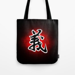 Act without hesitation. Do what is right. Tote Bag